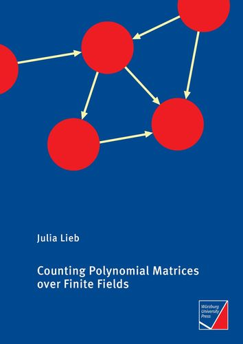 Counting Polynomial Matrices over Finite Fields
