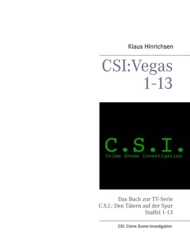 CSI: Vegas Staffel 1 - 13