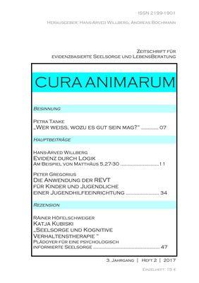CURA ANIMARUM (2017) 2