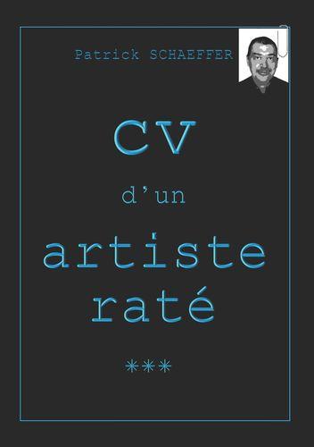 CV d'un artiste raté