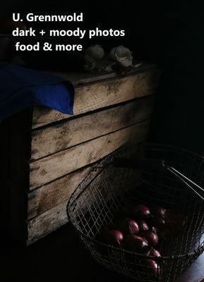 dark and moody photos, food and more