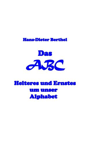 Das ABC des Alphabets