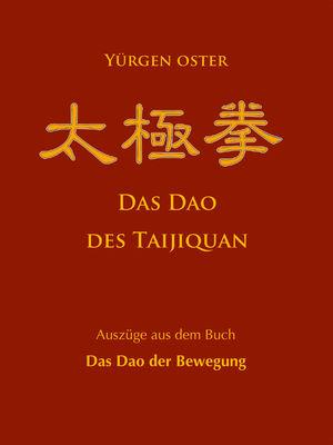 Das Dao des Taijiquan