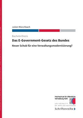 Das E-Government-Gesetz des Bundes