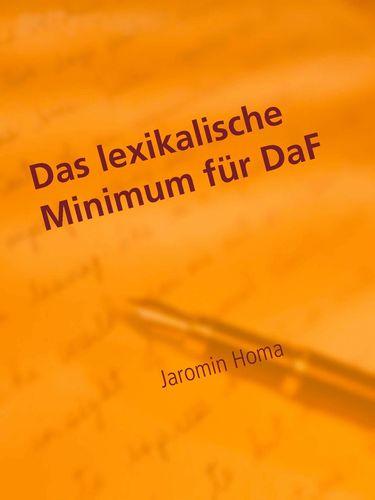 Das lexikalische Minimum für DaF