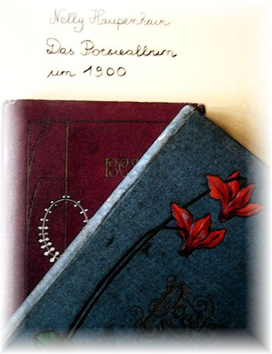 Das Poesiealbum um 1900
