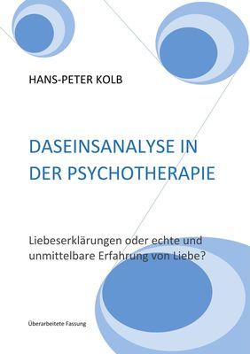 Daseinsanalyse in der Psychotherapie