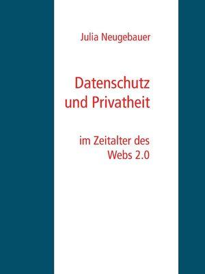 Datenschutz und Privatheit