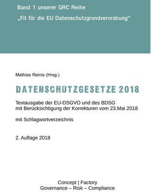 Datenschutzgesetze 2018