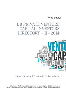 DB Private Venture Capital Investors Directory – II - 2014