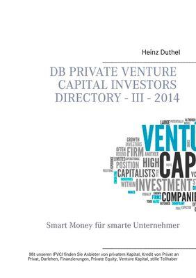DB Private Venture Capital Investors Directory - III - 2014
