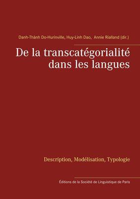De la transcatégorialité dans les langues