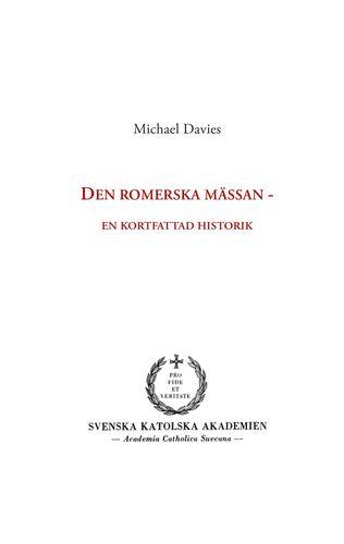 Den romerska mässan