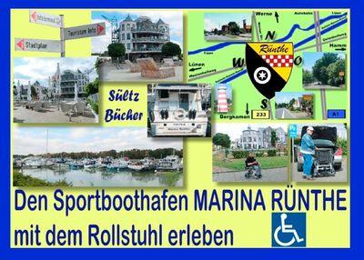 Den Sportboothafen Marina Rünthe mit dem Rollstuhl erleben
