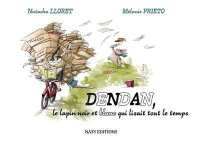 Dendan, le lapin noir et blanc qui lisait tout le temps