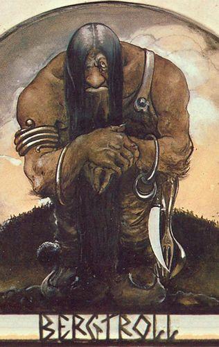 Der Bergtroll - Notizbuch (Trolle und Goblins)