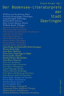 Der Bodenseeliteraturpreis der Stadt Überlingen