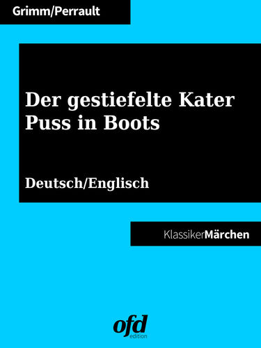 Der gestiefelte Kater - Puss in Boots
