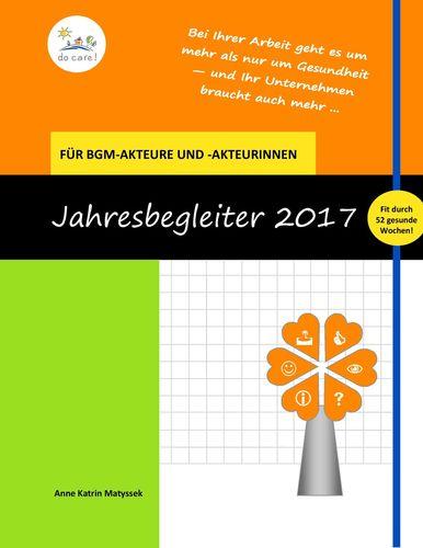 Der Kalender für Menschen im BGM 2017
