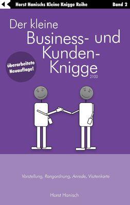 Der kleine Business- und Kunden-Knigge 2100
