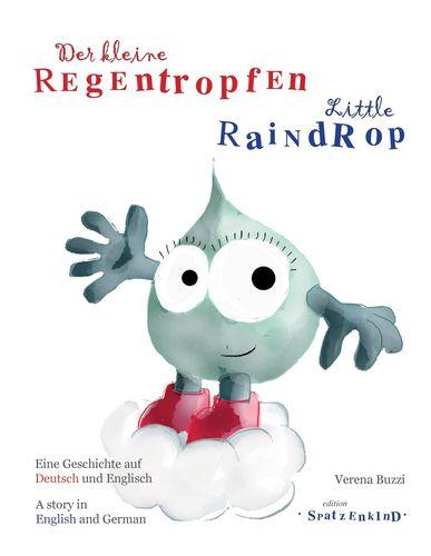 Der kleine Regentropfen - deutsch/englisch