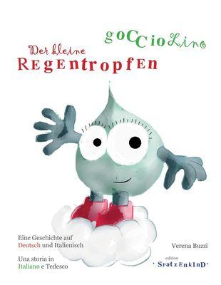 Der kleine Regentropfen - deutsch/italienisch