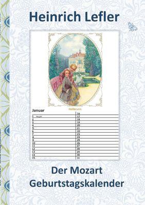 Der Mozart Geburtstagskalender (Wolfgang Amadeus Mozart)