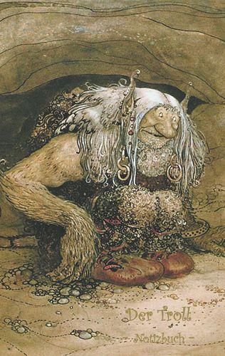 Der Troll - Notizbuch (Trolle und Goblins)