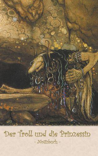 Der Troll und die Prinzessin  - Notizbuch (Trolle und Goblins)