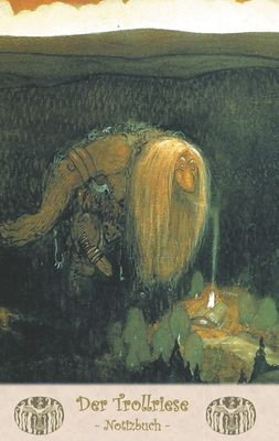Der Trollriese - Notizbuch (Trolle und Goblins)