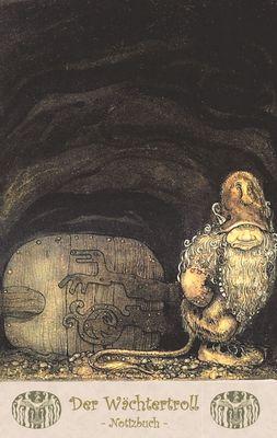 Der Wächtertroll - Notizbuch (Trolle und Goblins)