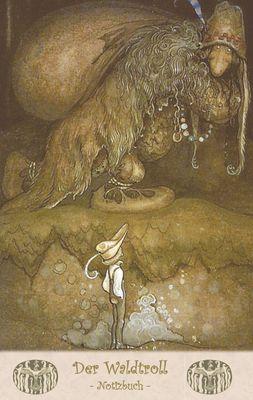 Der Waldtroll - Notizbuch (Trolle und Goblins)