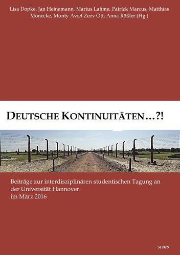 Deutsche Kontinuitäten ...?!