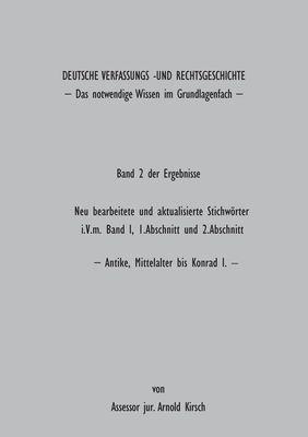 Deutsche Verfassungs- und Rechtsgeschichte