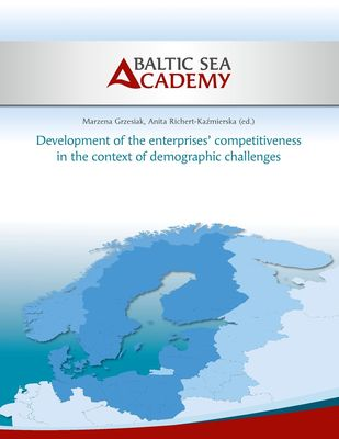 Development of the enterprises' competitiveness in the context of demographic challenges