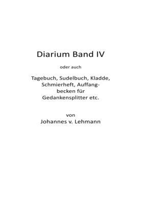 Diarium IV