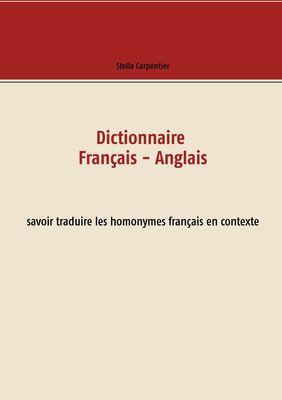 Dictionnaire Français - Anglais