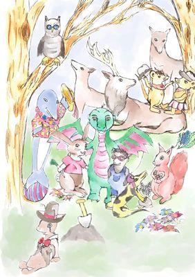Die Abenteuer des kleinen Drachen Felix