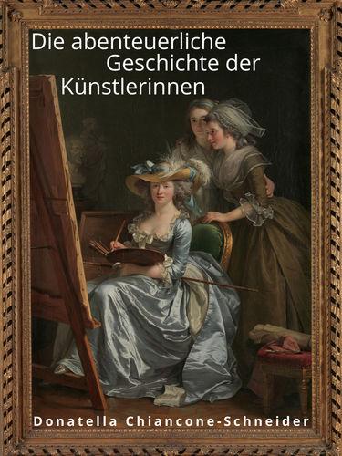 Malerin mit Schülerinnen