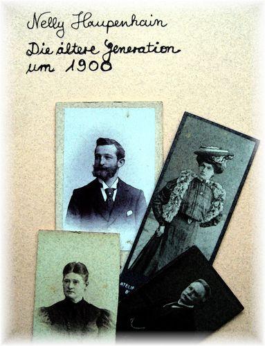 Die ältere Generation um 1900