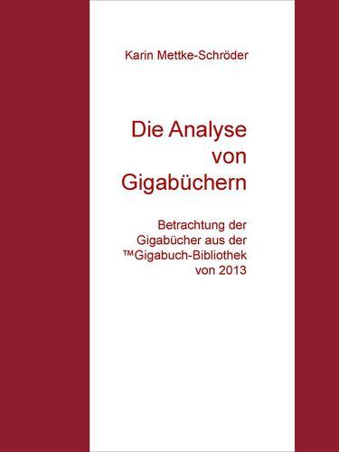 Die Analyse von Gigabüchern