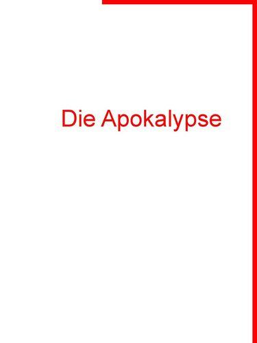 Die Apokalypse