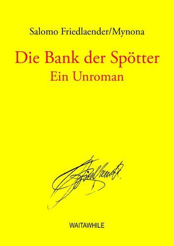 Die Bank der Spötter