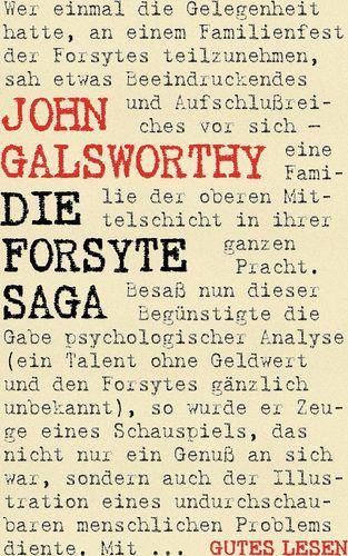 Die Forsyte Saga - Romantrilogie