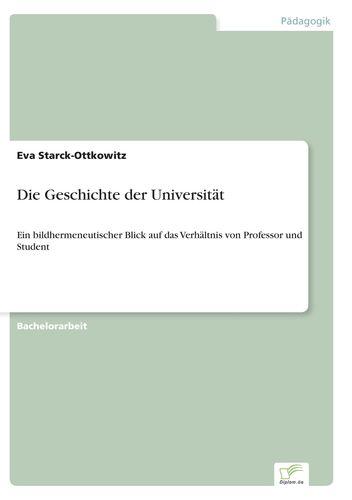 Die Geschichte der Universität