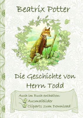 Die Geschichte von Herrn Todd (inklusive Ausmalbilder und Cliparts zum Download)