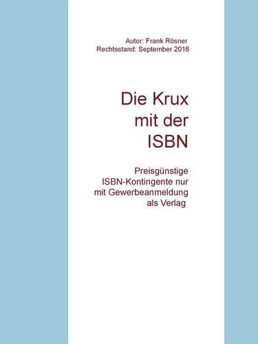 Die Krux mit der ISBN
