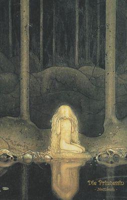 Die Prinzessin - Notizbuch (Trolle und Goblins)