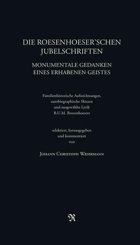 Die Roesenhoeser'schen Jubelschriften