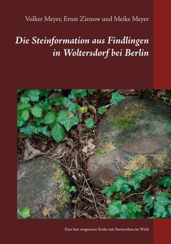 Die Steinformation aus Findlingen in Woltersdorf bei Berlin